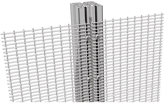 precrimped mesh installation technique