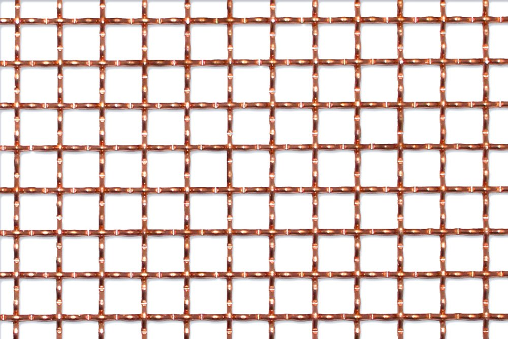 Churchill 11/11 x 2.0mm Copper Traditional Pre-crimped Wire Mesh
