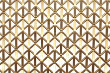 Brass wire mesh for bar grilles