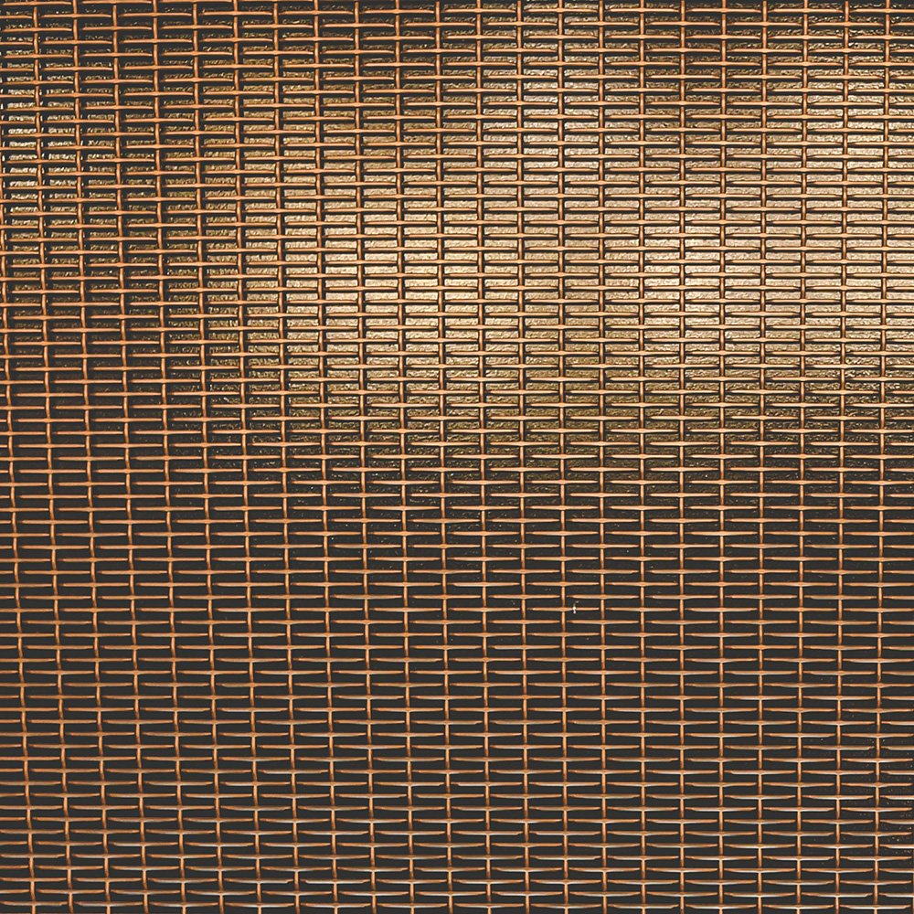 Architectural mesh bar grille
