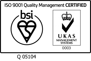 UKAS Mark of Trust - ISO 9001