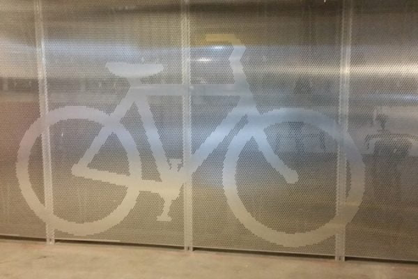 High Holborn Cycle Hub London Security Screens ImagePerf