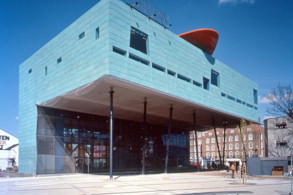 Peckham Library London Cladding - Facade Gladstone 100/10